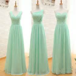 where to find bridesmaid dresses special bridesmaid dresses three styles a line simple wedding dress coral mint green