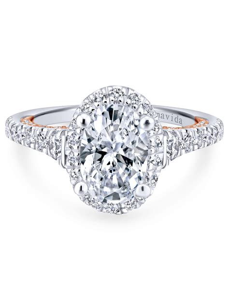 oval engagement rings   bride   martha stewart
