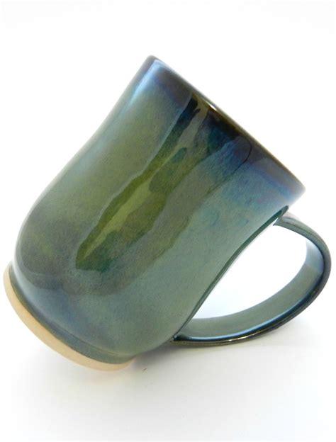 Ceramic unique coffee mug handmade, old olive tree coffee mug, favorite mug hand painted, textured rustic mug, handmade mug. Stoneware Mug, Beautiful Nautical Dark Green, UK Handmade Ceramic Coffee Cup, Cool Pottery Tea ...