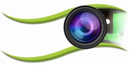 Camera Lens Clipart Production Cliparts Transparent Film
