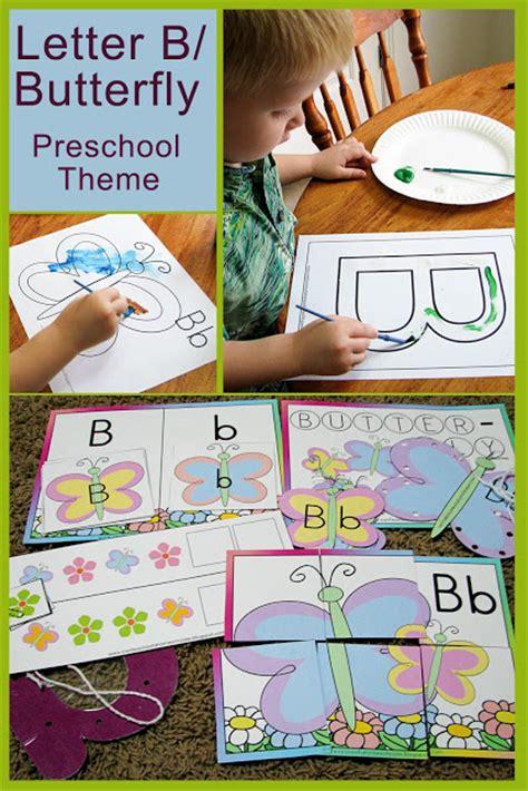s helper letter b as in butterfly preschool 697 | letterabutterflytheme