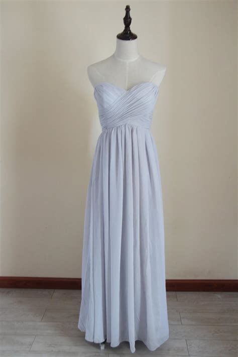 light grey bridesmaid dresses long light gray bridesmaid dress long chiffon light grey floor