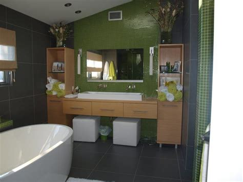 Spa Green Bathroom by Ten Green Bathrooms That Look Stunning