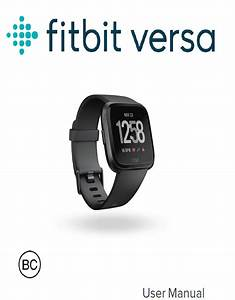 Fitbit Versa User Guide Pdf