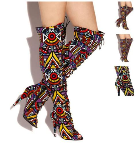 colorful thigh high boots boot hto