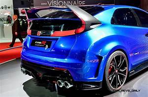 Civic 10 Type R : 2015 honda civic type r concept two makes paris debut ~ Medecine-chirurgie-esthetiques.com Avis de Voitures
