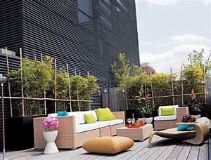 amenagement terrasse ou patio sur le toit des idees en photos With deco de terrasse exterieur 13 decoration salle de jeux playstation