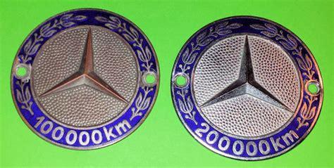 ✖ subscribe повторите попытку позже. Decoratief object - Mercedes 100.000 en 200.000 km Grille - Catawiki