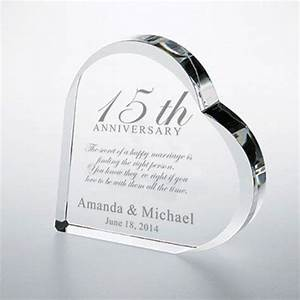 pin by engraved gifts on personalized for the home pinterest With crystal gifts for 15th wedding anniversary