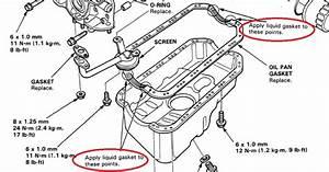 Rtv On Oil Pan Question - Honda-tech