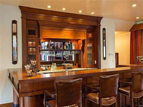 modern architecture living room bar