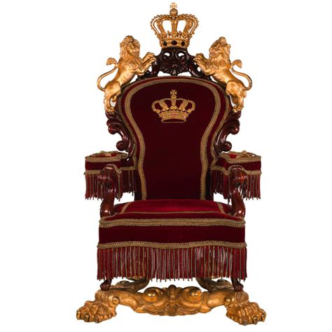 crown royal king chair golden king s throne with lions psd welovesolo