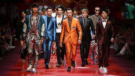 Dolceandgabbana Spring Summer 2018 Mens Fashion Show Youtube