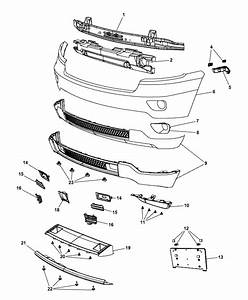 2012 Jeep Engine Diagram : 68190446aa genuine jeep beam front bumper ~ A.2002-acura-tl-radio.info Haus und Dekorationen