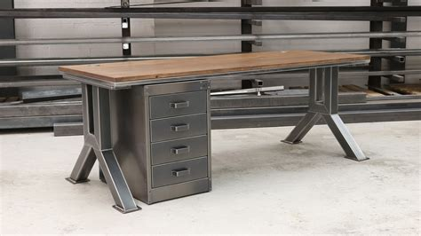 desk with drawer vintage industrial desk drawer unit steel vintage uk