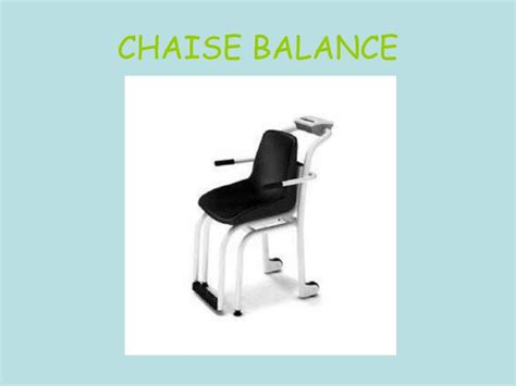 chaise balance ppt denutrition des personnes agees powerpoint