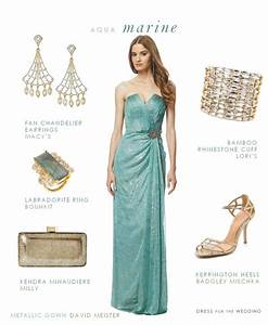 aquamarine evening gown gown for a black tie wedding With aquamarine wedding dress