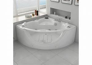 Baignoire Pour 2 : baignoire baln o d 39 angle rio ~ Edinachiropracticcenter.com Idées de Décoration