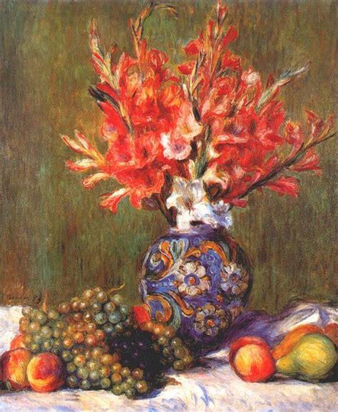 Nature Morte Fleurs Et Fruits 1889 De Pierre Auguste