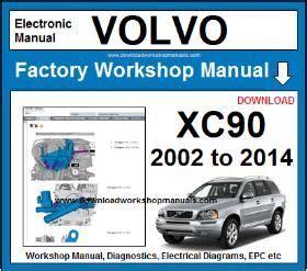 volvo xc workshop repair manual