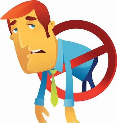 Tired Clipart Weak Depression Fatigue Symbol Cartoon