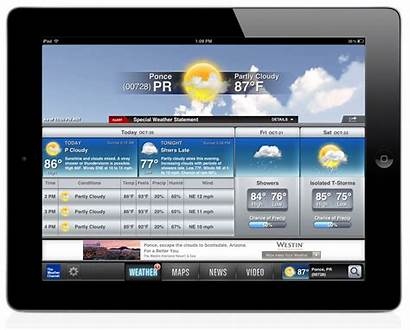 Weather Ipad Channel Apps Tablet Gadgetreview