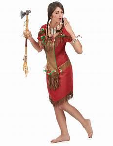 Indianer Damen Kostüm : indianer kost m in rot f r damen kost me f r erwachsene und g nstige faschingskost me vegaoo ~ Frokenaadalensverden.com Haus und Dekorationen
