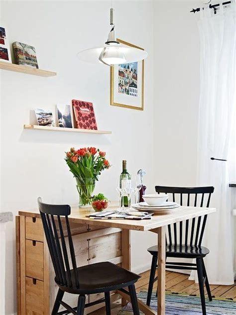 ideas  poner una mesa comedor en  espacio pequeno en