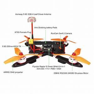 Arris X220 220mm Fpv Racing Quad