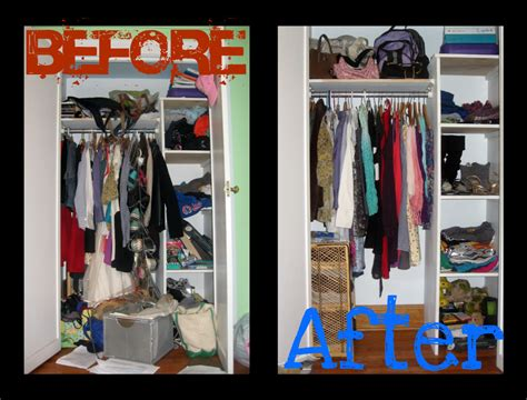 style before after closet makeover