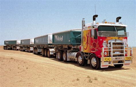 Road Truck by Road Trains