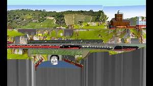 Gleisplan Spur N 250 75  150cm  L Form  Peco Und Gfn  Kanaltunnel  U00e0 La Elsa U00df