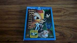 Bambi Diamond Edition 2 Disc Blu Ray Review And Unboxing