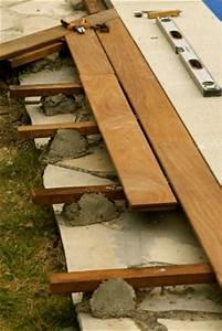 Eclairage Piscine Bois : terrasse en bois de piscine vaucluse ~ Edinachiropracticcenter.com Idées de Décoration