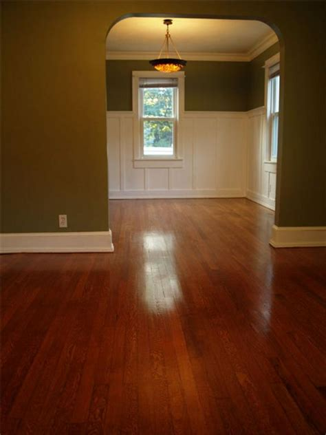 Gunstock Hardwood Flooring Stain by Minwax Gunstock Stained Oak Wood Floors