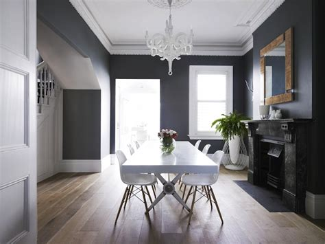 crown dentil molding contemporary dining room greg