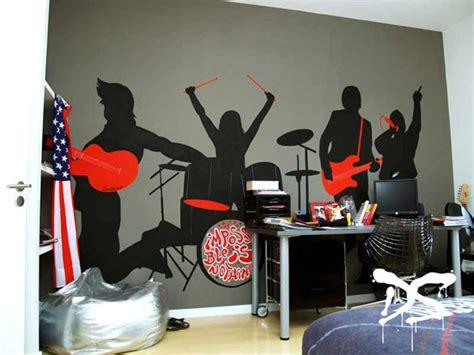 chambre rock décoration chambre rock