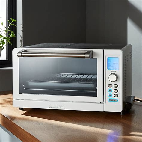 White Digital Toaster Oven by Cuisinart 174 Deluxe White Stainless Steel Convection