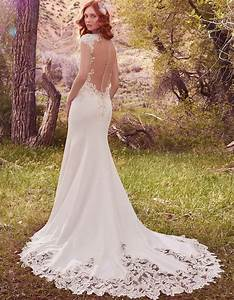 vintage inspired wedding dress with feature back odette With wedding dress
