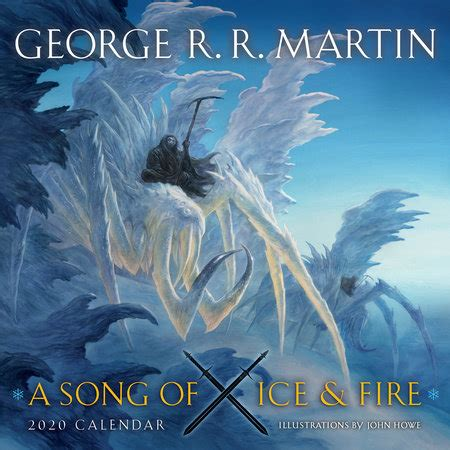 song ice fire calendar george martin