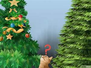 Kratzbaum Echter Baum : deinen weihnachtsbaum katzensicher machen wikihow ~ Frokenaadalensverden.com Haus und Dekorationen