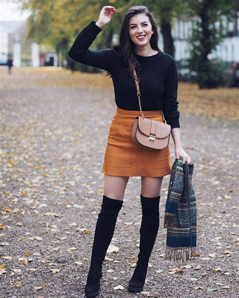 Best Outfits to Wear with Thigh-High (Over-the-Knee) Boots ...