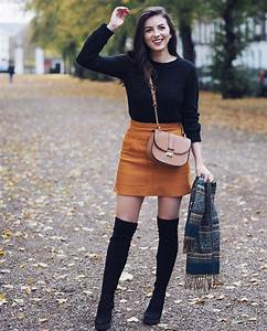 20 Style Tips On How To Wear Thigh High Boots This Fall - Gurl.com   Gurl.com