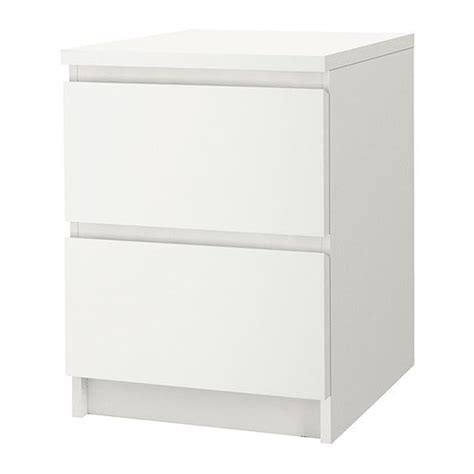 ikea malm nightstand malm 2 drawer chest white 15 3 4x21 5 8 quot ikea