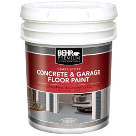epoxy garage floor behr 1 part epoxy garage floor paint