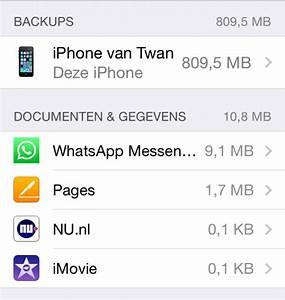 opslagruimte macbook beheren