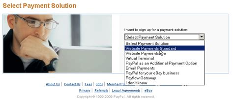 paypal sign up form sign up for paypal business account sell with paypal