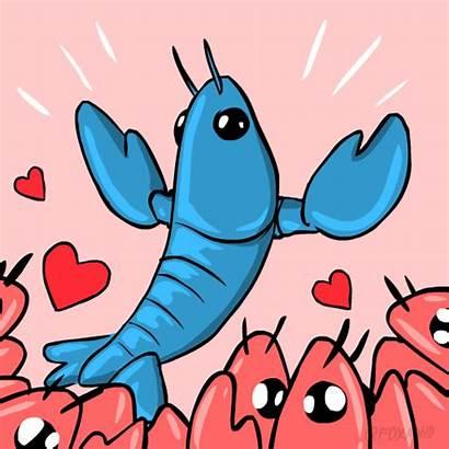 Lobster Gifs Fox Animation Maine Giphy Kreeft