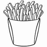 Coloring French Fries Pages Kitapları Boyama Emoji Anaokulu Harfler Character sketch template