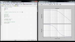 How To Make A Bode Plot Using Matlab